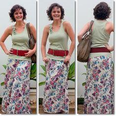 blog v@ LOOKS | por leila diniz: SAIA LONGA FLORIDA hering + cintão + cabelón + DEUS