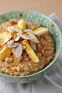 The Coach's Oats Blog: Almond Butter Oatmeal #coachsoats #oatmeal
