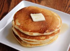 Gluten-Free Buttermilk Pancakes || A Less Processed Life