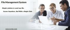 File ‪#‎Management‬ ‪#‎System‬ is simple solution to send any file. For more Information Click on :- http://www.ox-dox.com/