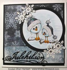Kirstens Hobbyblogg: En julehilsen til....