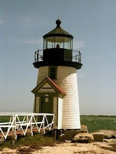 Brant Point Lighthouse in Nantucket Island Magnet