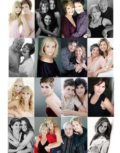 Mother and grown daughters---sue bryce posing guide - lots of good posing examples /  ideas
