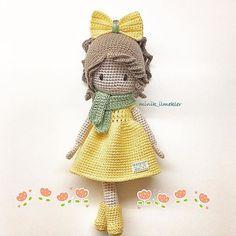 ⭐️Günaydın⭐️#amigurumi #amigurumidoll #amigurumilove #crochet #crochetlove #crochetaddict #handmade #doll #gift #nako #nakoileörüyorum