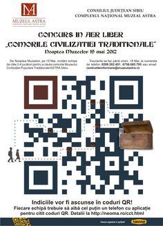 Concurs in aer liber: Comorile Civilizatiei Traditionale - Noaptea Muzeelor