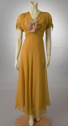 1930s mustard yellow