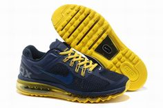 sneakers for cheap 4e6ae 47861 Discover the Super Deals Discount Nike Air Max 2015 Mesh Cloth Mens Sports  Shoes - Deep Blue Yellow collection at Pumacreeper. Shop Super Deals  Discount ...