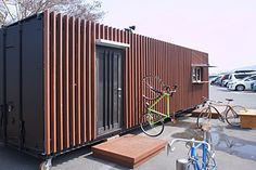 Shipping container home //