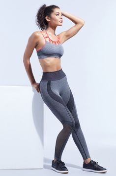 Super cute workout clothes every month. Just $39 for a sports bra, leggings and tank top at Ellie Activewear