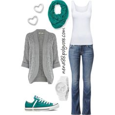 Soccer mom by nena88, via Polyvore