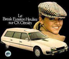 Citroen CX Break by Heuliez