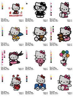 19 Best Hello Kitty Appliqués images  99f9db93eb1f