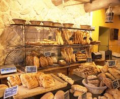 Authentic french style. Avignon bakery, # France