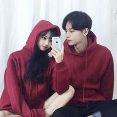 Matching Couple Outfits, Matching Couples, Ulzzang Couple, Ulzzang Girl, Simple Outfits, Cute Outfits, Korean Couple Photoshoot, Chica Cool, Couple Aesthetic