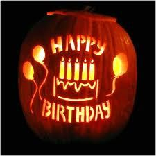 every halloween inspired birthday need a carved pumpkin this one with happy birthday i love