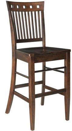 Amish Hampton Bar Stool - Keystone Collection $526