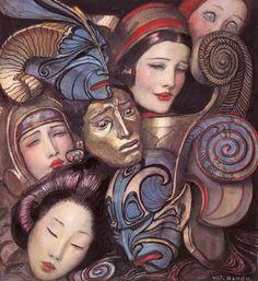 wt benda mask illustration