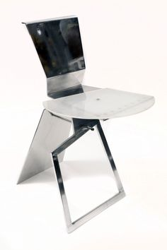 Askew Axis Prototype Chair by Robert Whitton