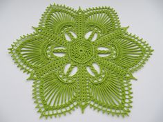 A different doily.