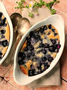 This dessert for two is packed with a terrific blueberry flavor! The recipe can be doubled or tripled without any problem at all and still be mixed and ready for the oven in 10 minutes  Being the blueberry lover that I am, I was so happy to find a recipe that makes two...Read More »