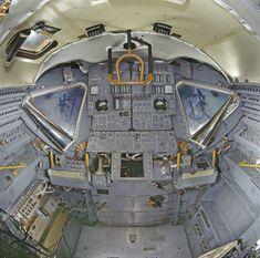 Apollo LEM interior
