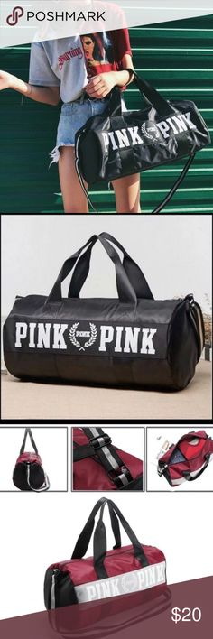 New with tags Victoria's Secret PINK duffle bag New with tags Victoria's Secret PINK duffle bag PINK Victoria's Secret Bags Shoulder Bags