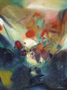 'Moments of Joy', 1992 - Chu Teh-Chun