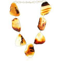 Isharya Agate Amber Necklace