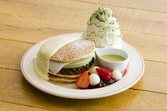 エッグスンシングス、京都四条店限定の「宇治抹茶アイスパンケーキ」仕上げに柚子クリーム&抹茶ソース | ファッションプレス