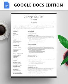 Resume On Google Docs Resume Template Cv Google Docs  Pinterest  Template Resume Cv .