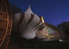 Beautiful snail shell house (outside)