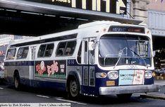 1970 New York City bus line.