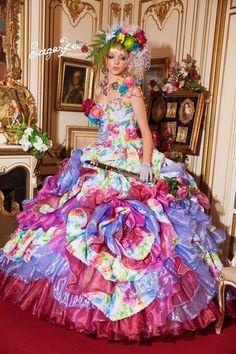 Beautiful of Rainbow Wedding Dress | Masquerade | Pinterest ...