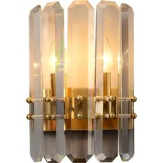Luxury Crystal Wall Lights Gold Wall Lamp LED Bulbs Light Fixtures For Bedroom Living Room Indoor Lighting Lustre AC Crystal Wall, Wall Lights, Room Lights, Gold Walls, Living Room Lighting, Led Lamp, Modern Lighting, Candle Sconces, Bulbs
