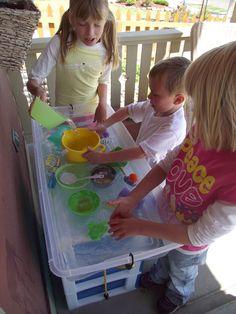 DIY Big Kid Water Table