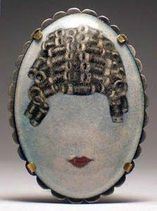Jessica Calderwood (enamel, not handpainted)
