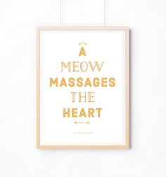 A Meow massages the #Heart de Piloo sur DaWanda.com