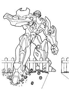 Transformers Printable Coloring Pages   Free Printable Transformers Coloring Pages For Kids