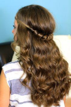 Headband Twist | Cute Girls Hairstyles