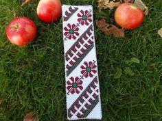 Autumn Bookmark Cross Stitch Pattern by CamisTheCrossStitch