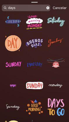 GIFS fofos - Stories (Inspiração história) - Sie sind an der richtigen Stelle für decorating coffee tables Hier bieten wir Ihnen die schönst - Instagram Blog, Ideas De Instagram Story, Frases Instagram, Creative Instagram Stories, Instagram And Snapchat, Motivation Positive Thoughts, Motivation Quotes, Monday Motivation, New Week Quotes
