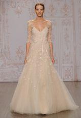 Monique Lhuillier Fall 2015 Wedding Dresses | Kurt Wilberding | blog.theknot.com