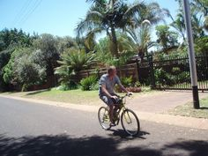 Customer enjoying his motorised bike! Motorised Bike, Motorized Bicycle