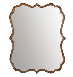 Rejuvenation Mirror Mirror: Hammered Copper Mirror
