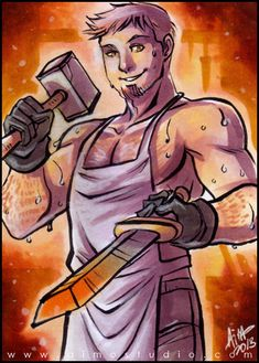 Roleplaying Shenanigans: Sweaty Smithy 'Stair by aimo on DeviantArt
