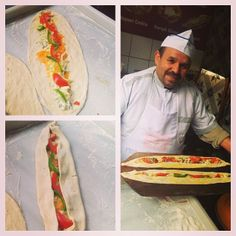 InstabulEatsTour: Spice Mkt: got a lesson in pide making from the famous Mehmet.