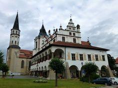 Levoča old town hall, Prešov region, Slovakia