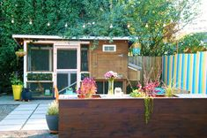 Colorful Small Space Patio Makeover!