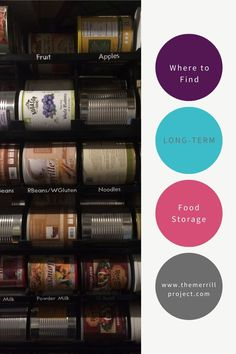 Where to find food for your long-term food storage. What type of companies are best to purchase freeze-dried food storage from. WHere to find shelf-stable food for emergency food supply. Emergency Food Supply, Long Term Food Storage, Find Food, Freeze Drying Food, Powdered Milk, Zombie Apocalypse, Frozen, Shelf, Type