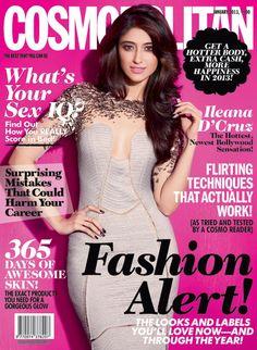 Ileana D'cruz en couverture du magazine Cosmopolitan Bollywood Fashion, Bollywood Actress, Ileana D'cruz, Cosmopolitan Magazine, Flirting Tips For Girls, Covergirl, Hottest Photos, Indian Actresses, Celebs
